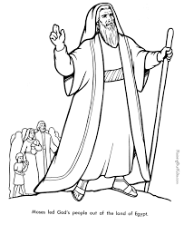 Moses Coloring Pages For Kids 399104 Bible Coloring Pages Moses