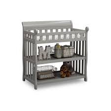 Delta Changing Table Delta Children Eclipse Changing Table With Pad Grey Walmart
