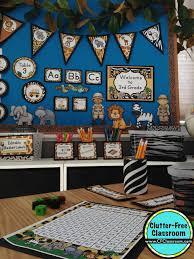 jungle safari themed classroom ideas u0026 printable classroom