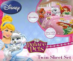 amazon com disney palace pets 3pc twin sheet set bedding