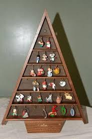 hallmark miniature ornament shelf shadow box house hallmark