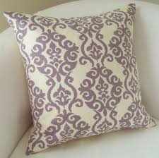 Purple Accent Pillows Decorative Throw Pillow Cover Lilac Purple