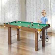 tabletop pool table 5ft homcom 4ft mini pool table billiards tabletop snooker toy with all