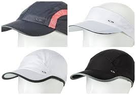 running hat with lights chion c9 womens running hat visor black white cool dry reflective
