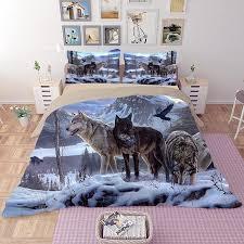 wolf bed set all bedding set ellie max