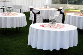 Round Tables For Rent by Gallery Party Rental Miami
