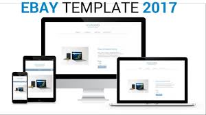 ebay listing template 2017 responsive mobile friendly youtube