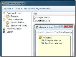 imacros tutorial loop macro recorder plugin for google chrome