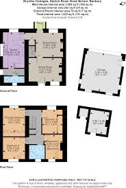 House Plan 45 8 62 4 by 4 Bedroom Property For Sale In Brymbo Cottages Station Road Hook