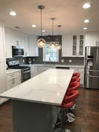 white shaker kitchen cabinets with gray quartz countertops white shaker cabinets with gray quartz countertops page 1