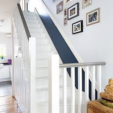 How To Paint A Banister Black Painted Stairs Ideal Home