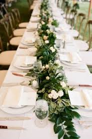 cheap garlands for weddings 1000 ideas about table garland on pub wedding