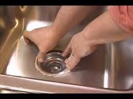 Kitchen Sink Strainer YouTube - Kitchen sink waste strainer