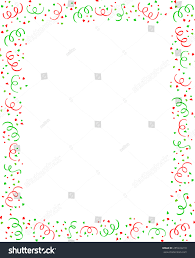 red green falling confetti christmas party stock vector 255949219