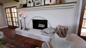 double sided fireplace design video hgtv