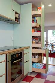 decorating great wooden kitchen storage made with kerf design