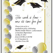 templates free template for graduation invitation free