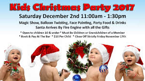 Christmas Party Food Kids - 2017 kids christmas party tickets the club