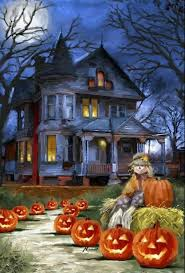 vintage moon pumpkin halloween background halloween scene halloween pinterest halloween scene hallows