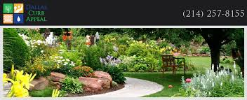 Landscape Curb Appeal - drip irrigation dallas curb appeal