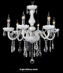 Crystal Chandeliers For Bedrooms New Modern White Crystal Chandeliers For Livingroom Bedroom Indoor