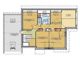 maison avec 4 chambres plan maison moderne 4 chambres free plan rdc maison maison