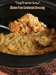 cooker gluten free cornbread dressing the weary chef