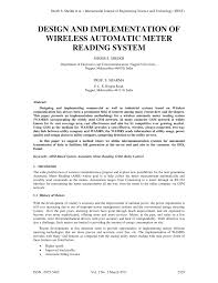 si es auto r lementation design and implementation of wireless pdf available
