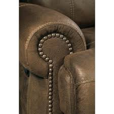Brown Leather Recliner Sofas Faux Leather Recliner Austere 2 Seat Faux Leather Reclining Sofa
