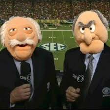 Waldorf And Statler Meme - statler and waldorf sports announcers sportsmemes