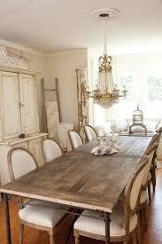 Shabby Chic Dining Room Chair Mesa Madera Sillas Revestidas Tela Ideas Rusticas Modernas
