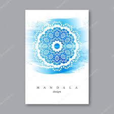 Islamic Invitation Card Invitation Wedding Card Template With Hand Drawn Mandala