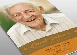 modern funeral programs naples funeral program template brochure templates creative market