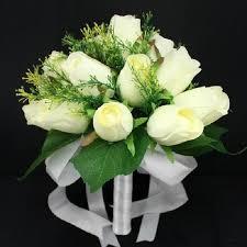 mariage clã en bouquet de fleur artificielle mariage blanc achat vente