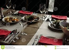 Luxury Wine Glasses Luxury Wine Glasses And Silver Tableware Near Plates With Red Na