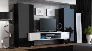 Modern Design Tv Cabinet Roche 3 Modern Wall Units Living Room Wall Units And Modern Wall