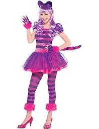 Halloween Costumes Girls Age 16 Girls Cheshire Cat Costume Teen Kids Pink Kitty Fancy Dress