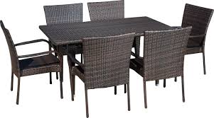 Patio 7 Piece Dining Set - 7 piece minerva patio dining set u0026 reviews joss u0026 main