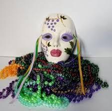 ceramic mardi gras masks for sale set of 2 handpainted ceramic mardi gras mask wall by jerrysshoppe