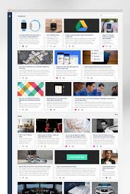 material design news feed app materialup