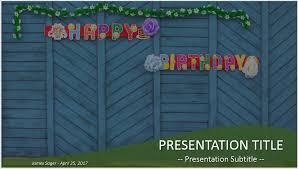 happy birthday powerpoint 42263 free powerpoint happy birthday