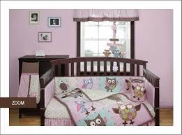 Owls Crib Bedding Bananafish Calico Owls Baby Bedding