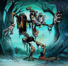 ghoul friend goofy zombie