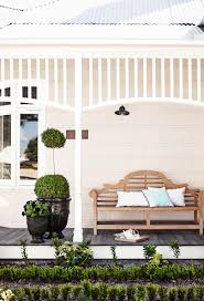 Front Porch Bench How To Find The Right White For Your Exterior Exterior Decking
