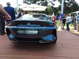bmw supercar m8 bmw 8 series concept stands out among sea of supercars autoguide
