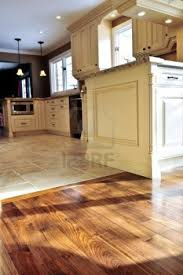 diy kitchen floor ideas wood and tile flooring combinations search for the home