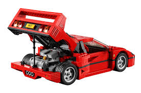 lego sports car lego ferrari f40 10248 set revealed photos u0026 video bricks and