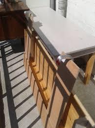 folding table bench ikea hackers ikea hackers