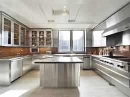 stainless steel kitchen ideas best 25 stainless steel kitchen cabinets ideas on