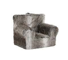 Pottery Barn Kids Everyday Chair Gray Ombre Faux Fur Anywhere Chair Pottery Barn Kids Kid U0027s